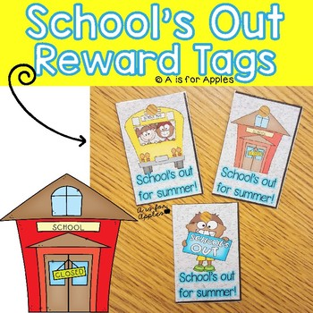 Brag Tags for the End of the School Year