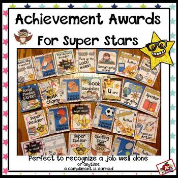 Brag Tags for Super Stars