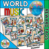 Reward Tags for World Music