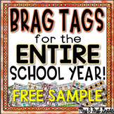 Reward Tags for the ENTIRE School Year! FREEBIE!