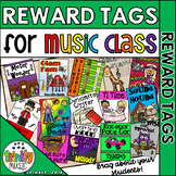 Brag Tags for Music Class