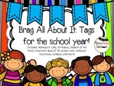 Brag  All About It:Tags for the School Year-- A growing file