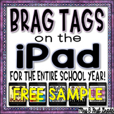 Digital Reward Tags - Pad Pics! For the ENTIRE School Year