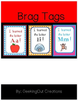 Brag Tags from the Alphabet Mega Bundle