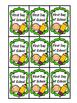 Brag Tags in English and Spanish (Etiquetas de Logros)