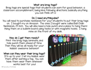 Brag Tags {milestone edition!}