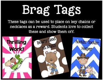 Brag Tags or Behavior Tags: Rootin' Tootin' Reader