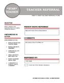 Brag on Teacher Referral Form
