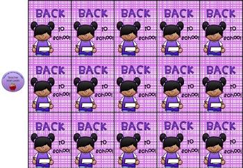 Brag tags Back to school