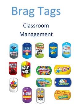 Brag tags Classroom Management Bundle