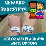 Reward tags/bracelets