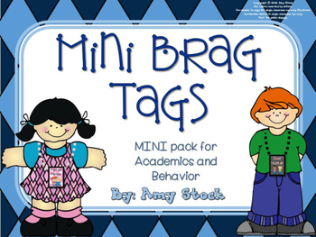 Brag tags mini pack
