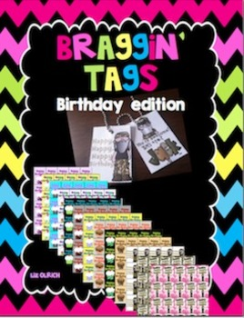 Braggin Tags - birthday edition