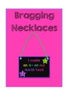 Bragging Badge Necklaces