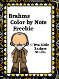 Brahms Color by Note