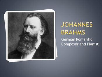 Brahms - Composer Mini-Lesson