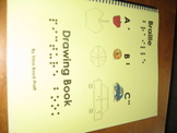 Braille ABC Drawing Book