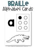 Braille Alphabet Cards {Freebie}