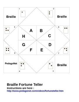 Braille Fortune Teller