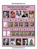 Braille: Grade 3-8: International Human Rights Leaders for