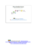 Braille Music Note Value
