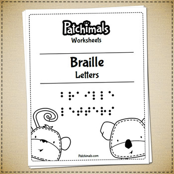 Braille alphabet worksheets