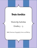 Brain Aerobics - Warm Up Worksheets