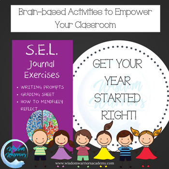 Brain-Based Activities: Mindful Journaling with 15 Writing Prompts