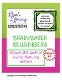 Brain Based BellRingers Packet 2 - 5-Minute Class Openers