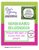 Brain Based BellRingers Packet 4 - 5-Minute Class Openers