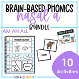 Brain Based Phonics - AM AN ALL Pack