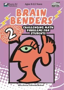 Brain Benders 2: Challenging Math Problem Solving Activiti