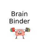 Brain Binder Covers