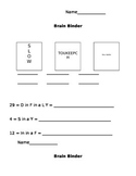 Brain Binders