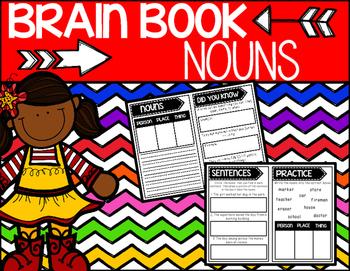Brain Book:  Nouns