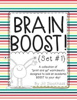 Brain Boost (Set #1)