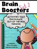 Brain Boosters 2: Creative Thinking Activities