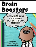 Brain Boosters: Creative Thinking Activities
