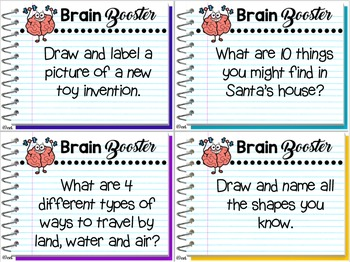 Brain Boosters ~ Fast Finishers for Back to School