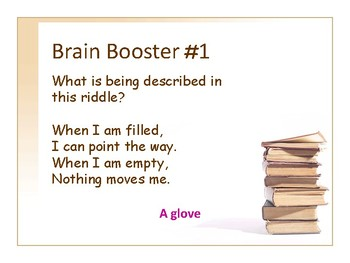 Brain Boosters Puzzles Presentation