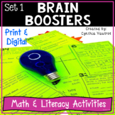 Brain Boosters! - Set 1