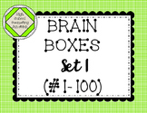 Brain Box #1 Visual Word Puzzles of the Day