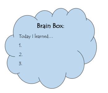 Brain Box (Growth Mindset)