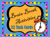 Brain Break Activities for Middle and High School