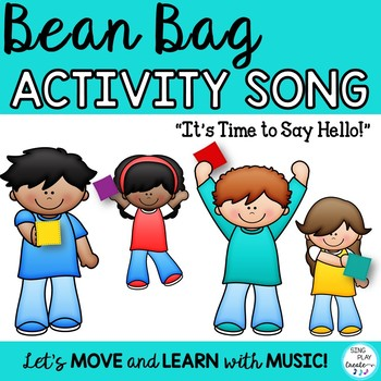 """Brain Break: Bean Bag Activity Song """"It's Time to Say Hell"""