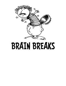 Brain Break Activity Cards - Get Those Kids Moving!