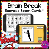 Brain Break Activity Gross Motor Movement BOOM Cards