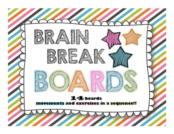 Brain Break Boards!