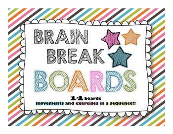 Brain Break Boards!