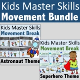 Brain Break Bundle for Distance Learning (PDF, Google Slid